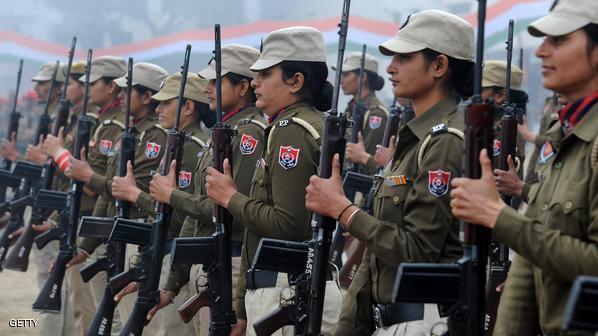 شرطيات هنديات للتصدي للتحرش الجنسي