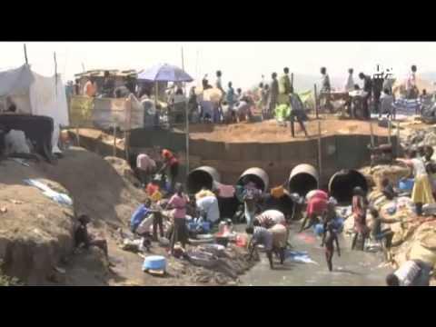 أكثر من 100 ألف نازح في جنوب السودان