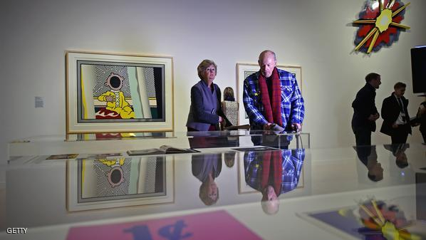 Preview Of Ground-breaking American Pop Artist's Exhibition