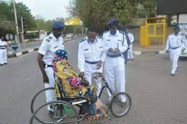 شرطة المرور في السودان