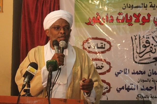 الأمين العام لجماعة أنصار السنة منصب والي ولاية نهر النيل