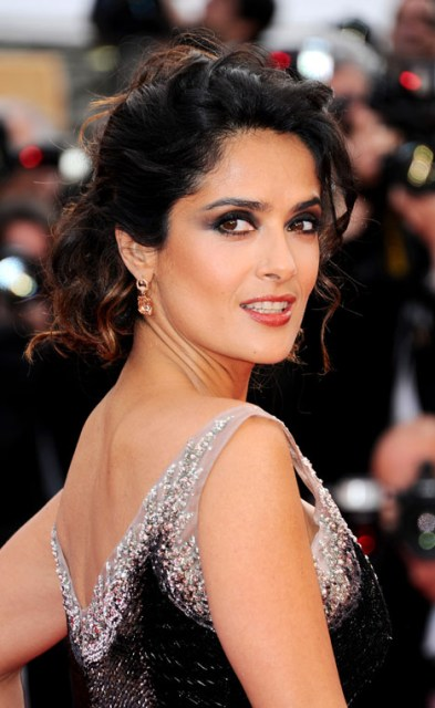 Mandatory Credit: Photo by Joseph Kerlakian / Rex Features (1715471ab) Salma Hayek 'Madagascar 3: Europe's Most Wanted' film premiere, 65th Cannes Film Festival, France - 18 May 2012