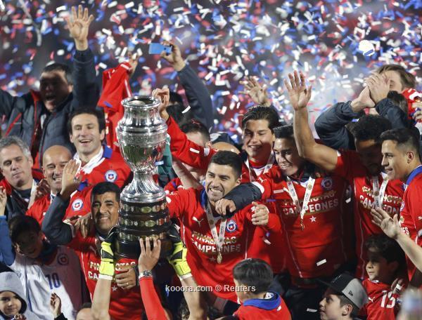 تشيلي بطل كوبا 15