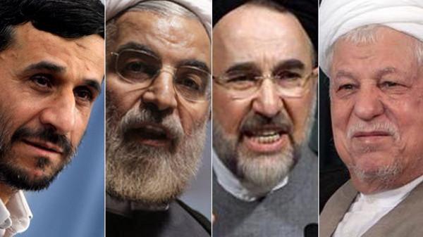 رؤساء إيران