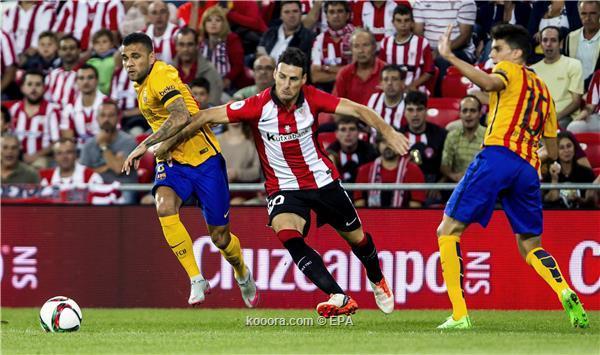 برشلونة واتلتيك بلباو 0-4