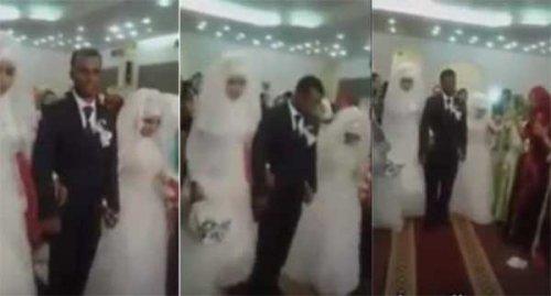 شاب سوداني يتزوج بفتاتين