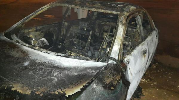 سيارة حريق