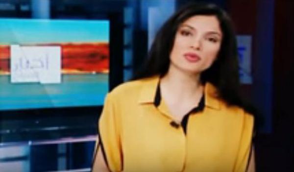 مذيعة لبنانية تعتذر على الهواء