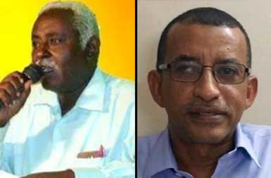 الدقير والماحي المرشحين الوحيدين حتى الآن لرئاسة حزب المؤتمر السوداني ـ صورة من صفحة الحزب على فيسبوك