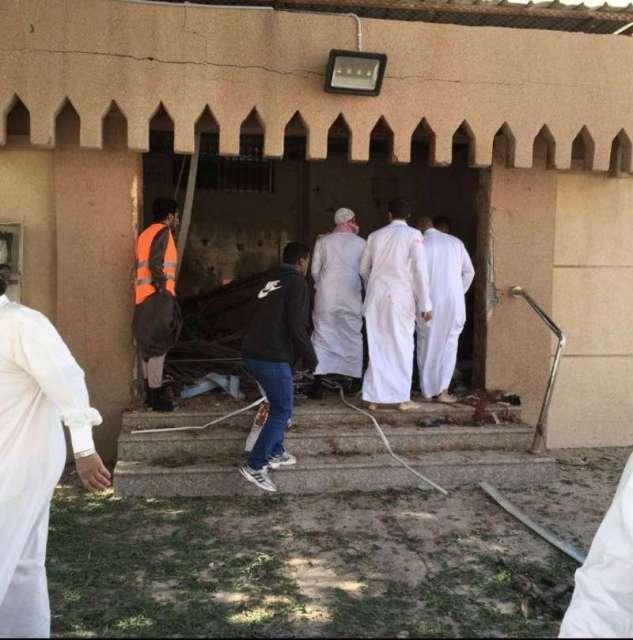 3 شهداء و7 مصابين في حادث إرهابي استهدف مسجداً في الأحساء
