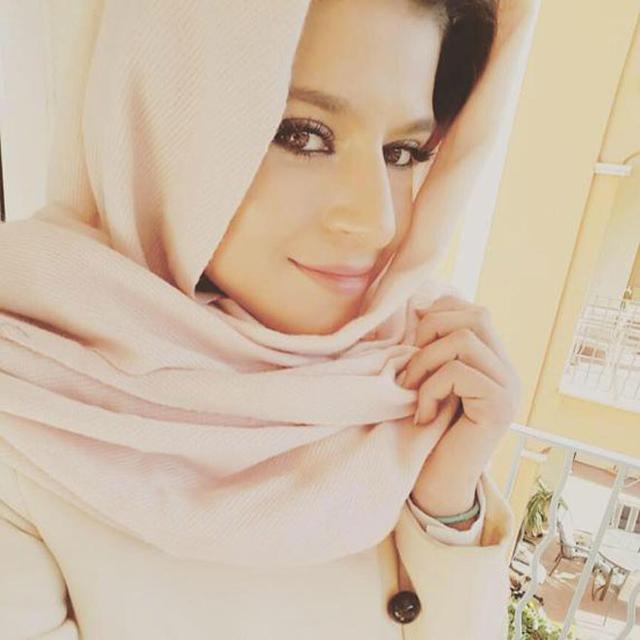 عارضة الأزياء المغربية، أمل صابر