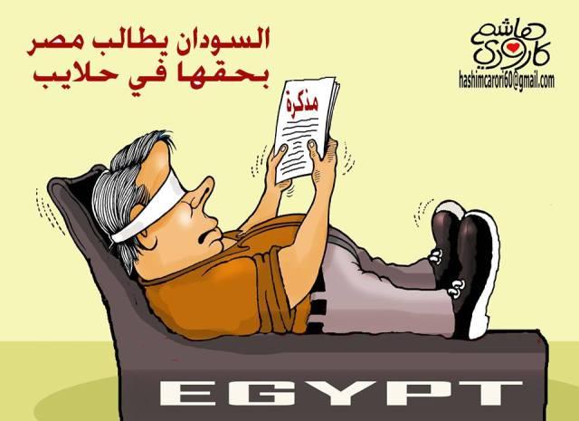 السودان يطالب مصر بحلايب !