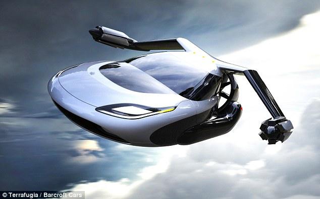 السيارة الطائرة ستصبح جاهزة بحلول 2018