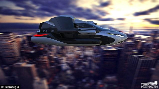 السيارة الطائرة ستصبح جاهزة بحلول 20181