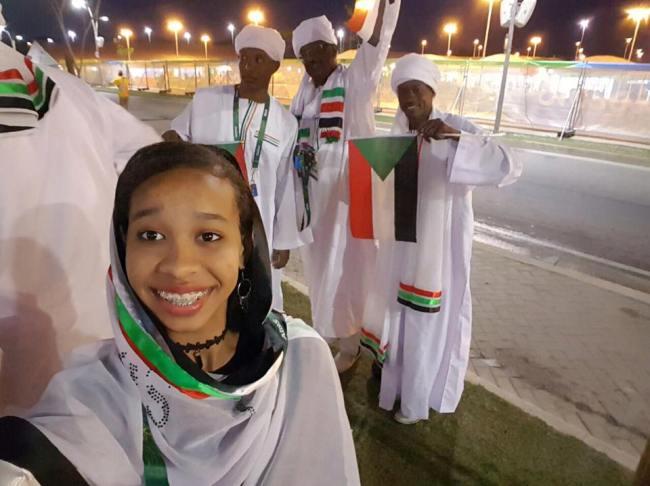 افتتاح الأولمبياد في البرازيل بمشاركة السودان2