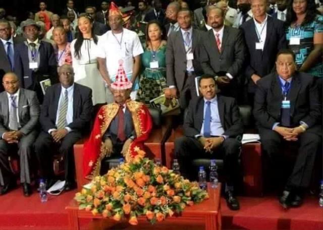 تكريم البشير اثيوبيا