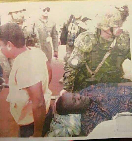 ظهور صور رياك مشار لحظة وصوله الى دولة الكونغو