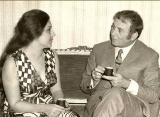 عندما تزوج نزار قباني من ابنة ياسر عرفات