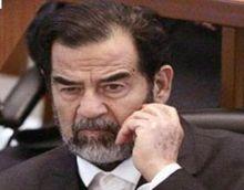 اسم صدام حسين نعمة الأمس ونقمة اليوم ...