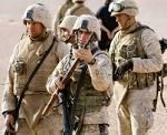 25 جندياً من المارينز الامريكي وصلوا مطار عنتبي