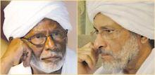 الترابي وغازي صلاح الدين يبحثان عدداً من القضايا