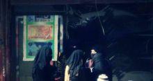 ظهور أول كتيبة نسائية داعشية تتجول مع أسلحتها بالرقة