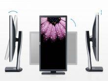 Dell تطلق أول شاشة قابلة للاستدارة