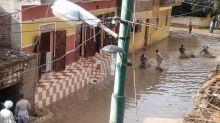 سيول تخلف أضرارا بمدينة الأقصر