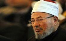 """القرضاوي يقول إن السيسي """"مصيبة"""" على مصر"""