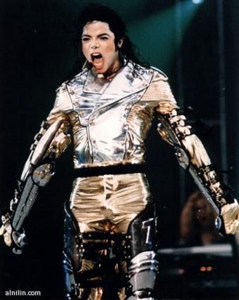 ملك البوب الأمريكي مايكل جاكسون