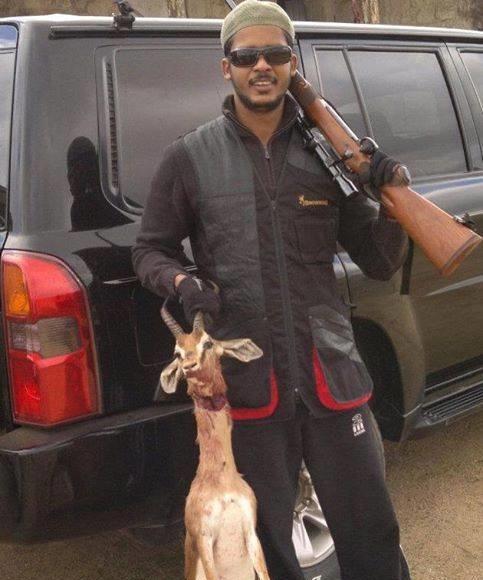 ابراهيم الميرغني في رحلة صيد وقنص الغزلان في ربوع السودان