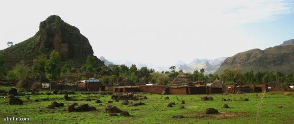 جبل مرة دارفور غرب السودان