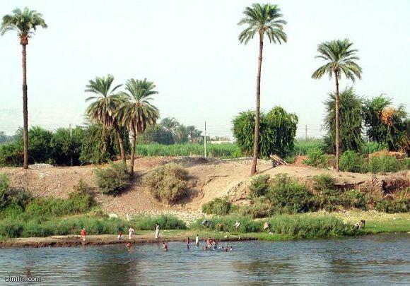 صورة على ضفاف النيل - دنقلا