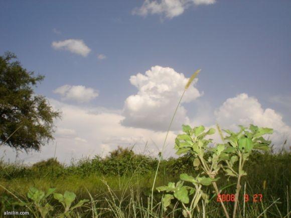 السماء ملبدة بقليل من القيوم - موسم الخريف بولاية جنوب كردفان