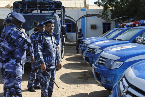 30 ألف شرطي لتأمين الانتخابات بالسودان