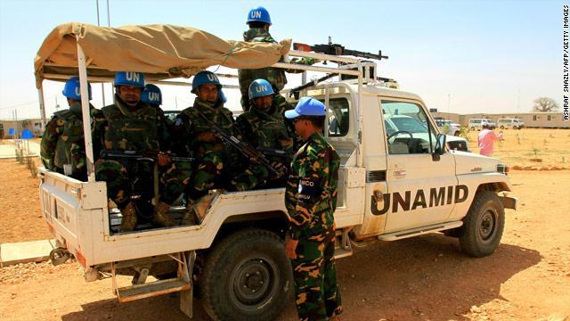 يوناميد تنفي نقل مفاوضات دارفور لأديس