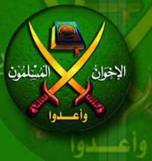 """عرض عسكرى لكتائب القسام يرفع شعار الإخوان وإشارة """"رابعة"""""""