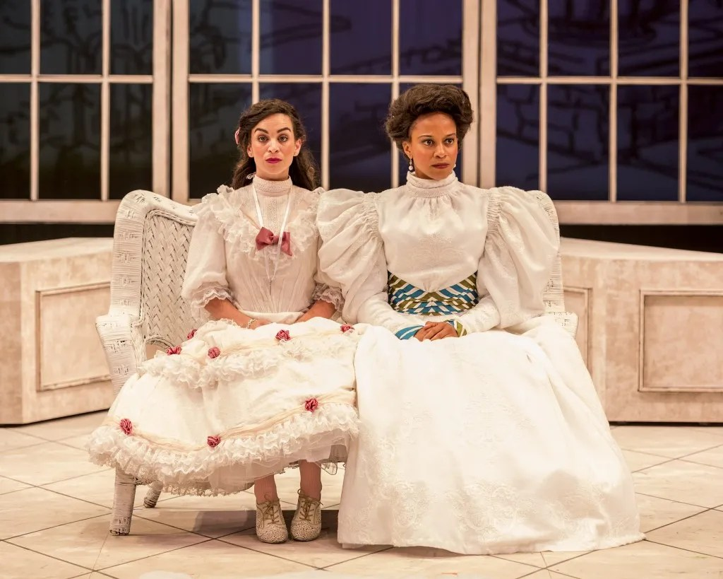 Marisa Duchowny as Cecily & Carolyn Ratteray as Gwendolyn. Photo by Craig Schwartz.