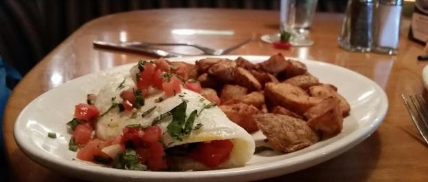 Egg White Veggie Omelette. Photo: Michael Farah.