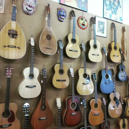 Guitars at The Folk Music Center
