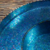 Metallic Glass Mosaic Spa
