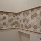 Limestone Shower Installation
