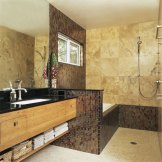 All Tile Master Bathroom