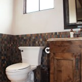 Custom Tile Wainscot
