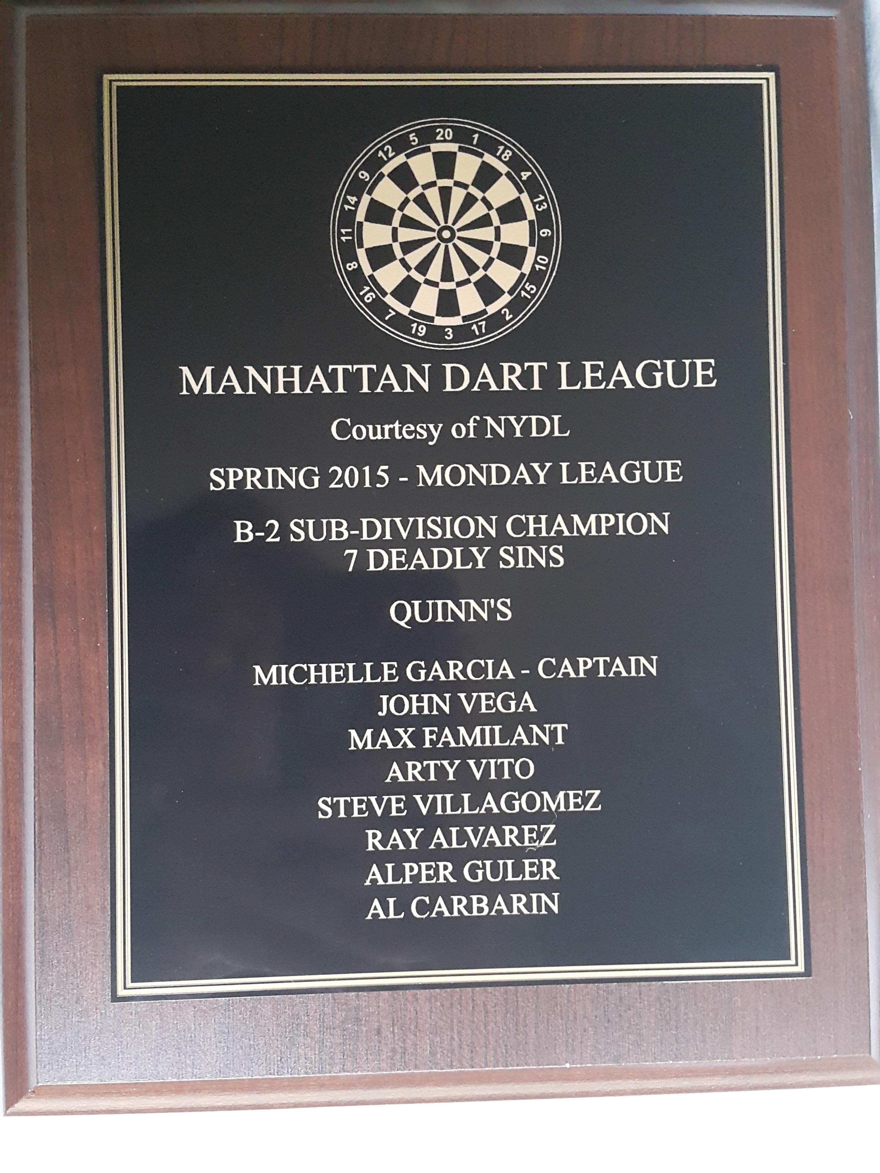 new york darts league 4