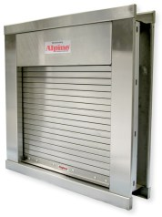 Security Gate Counter, Service Shutters, Integral Frame Doors, Hollow Metal