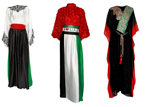 UAE Independence Day Abayas