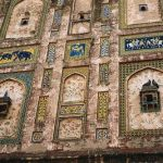 Close-Up View of Facade of Lahore Fort