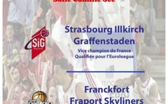 SIG - Francfort Fraport Skyliners à Colmar