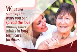 seniors in long term care facility